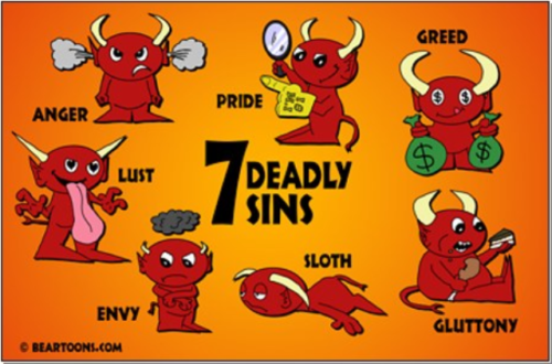 The Seven Deadly Sins of Press Releases